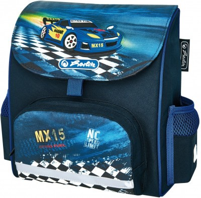 Ранец Herlitz дошкольный MINI SOFTBAG Super Race