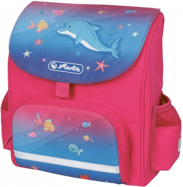 Ранец Herlitz дошкольный MINI SOFTBAG Little Dolphin