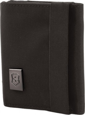 Бумажник VICTORINOX Lifestyle Accessories 4.0 Tri-Fold Wallet, чёрный 31172401