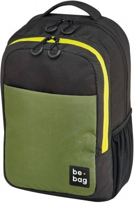 Рюкзак школьный Herlitz be.bag be.clever green