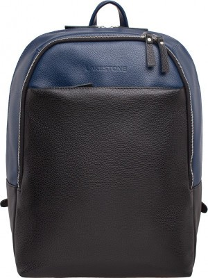 Рюкзак Faber Dark Blue/Black натуральная кожа
